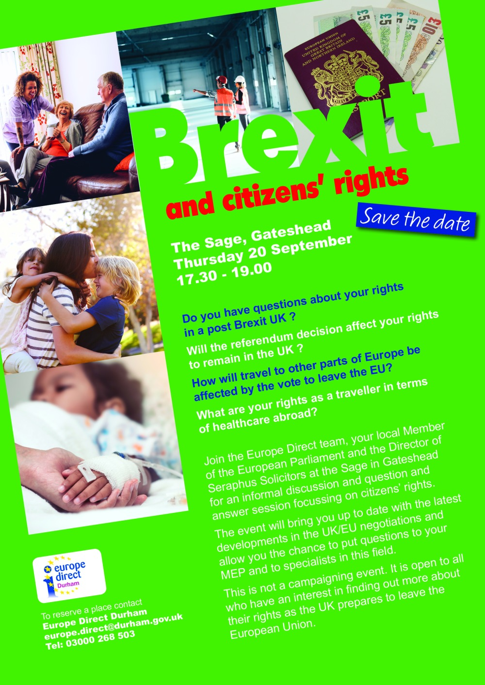 43997 effects of brexit A4 posters citizen